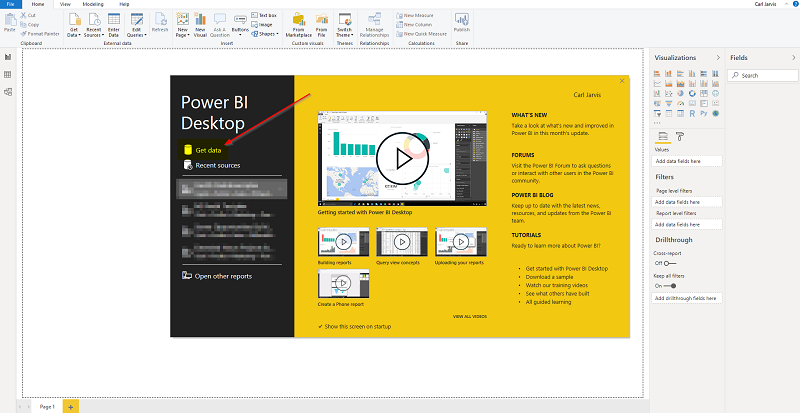 Getting Started With Microsoft Power BI