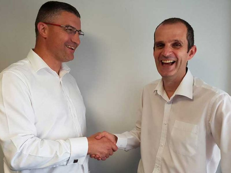 Picture of Drew Hall and Huw Gelder - New IT Support Team Members