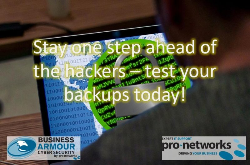 How Do I Test My Backups