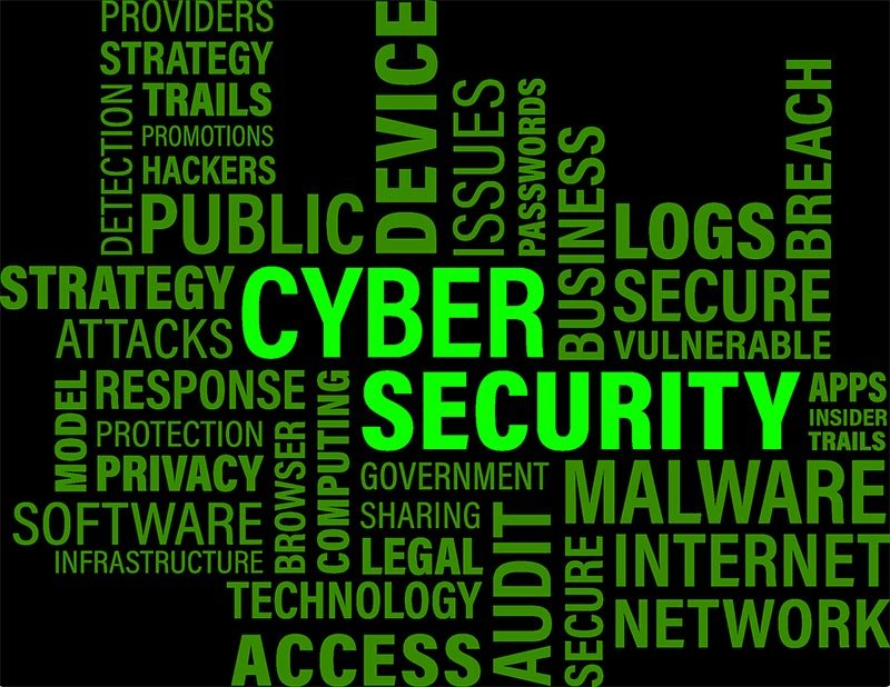 cybersecurity word cloud