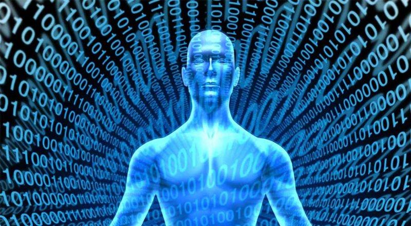 binary human conceptual image