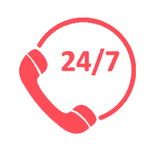 24/7 It support icon