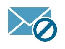 Anti-spam icon