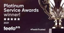 Feefo Platinum Winners