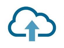 Cloud back icon