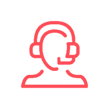 IT remote support engineer icon