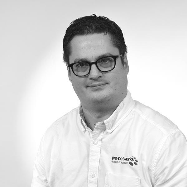 Matt Waddell, IT Support Engineer, Pro-Networks