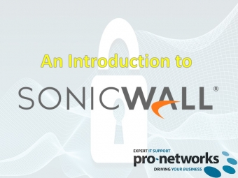 An Introduction To SonicWall