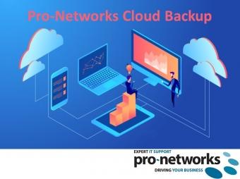 Pro-Networks Cloud Backup