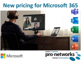 New pricing for Microsoft 365